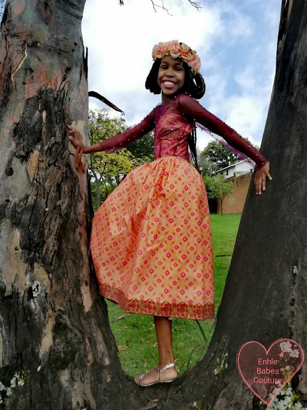 Enhle Gebashe has the world  at her feet.