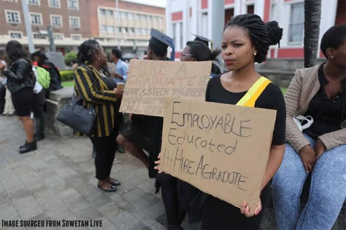 Graduates unemployment creates doubts.