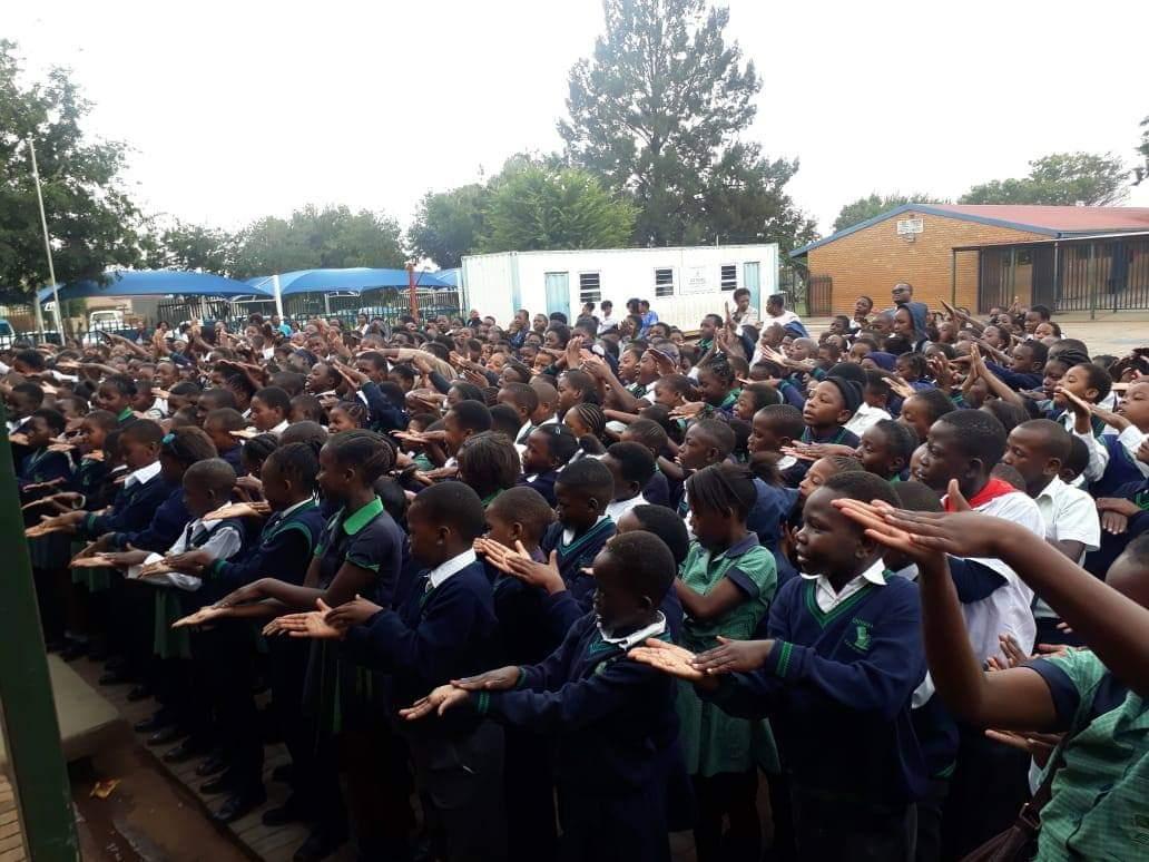Chivirikani Primary School gets literacy!